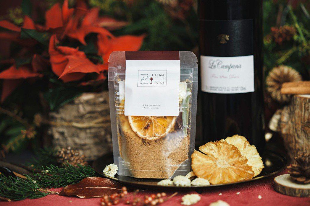 以台灣原生特有種香料馬告和土肉桂打造的熱紅酒香料包,創造令人驚艷的在地風味。業者...