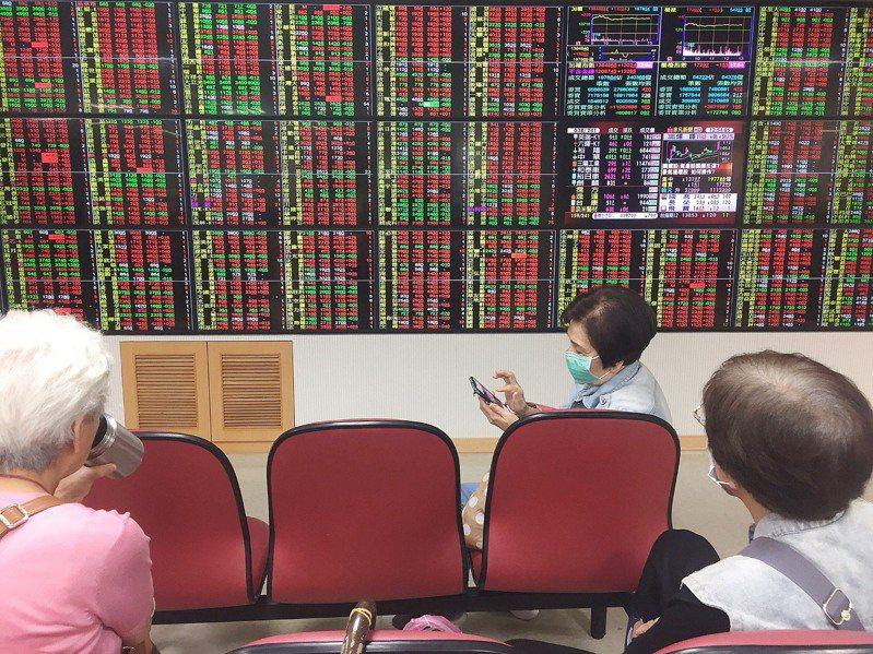 台股今終場上漲106.83點,收在13,845.66點,站回5日均線,成交量達2,186.74億。  中央社