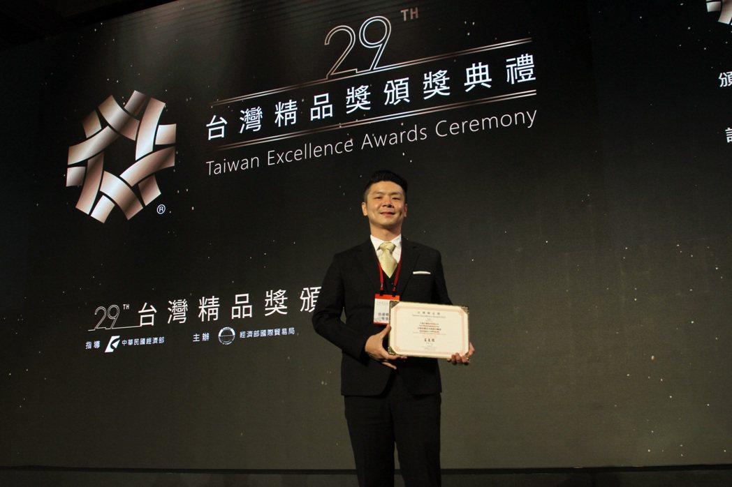 亞恩自動血球細胞分離器獲台灣精品獎殊榮,將加速國際市場的推展。 亞恩生醫/提供