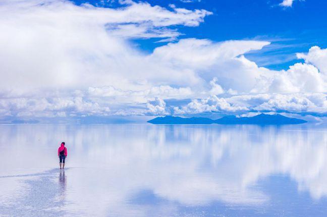 玻利維亞 烏尤尼鹽湖(Salar de Uyuni, Bolivia) 圖/Ta...