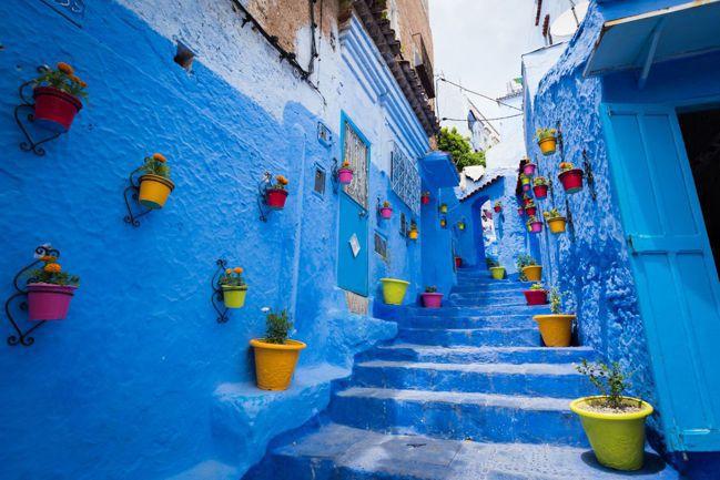 摩洛哥 契夫蕭安(Chefchaouen, Morocco) 圖/Talter ...