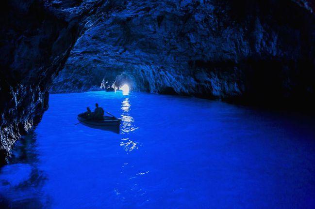 義大利 藍洞(Grotta Azzurra, Italy) 圖/Talter T...