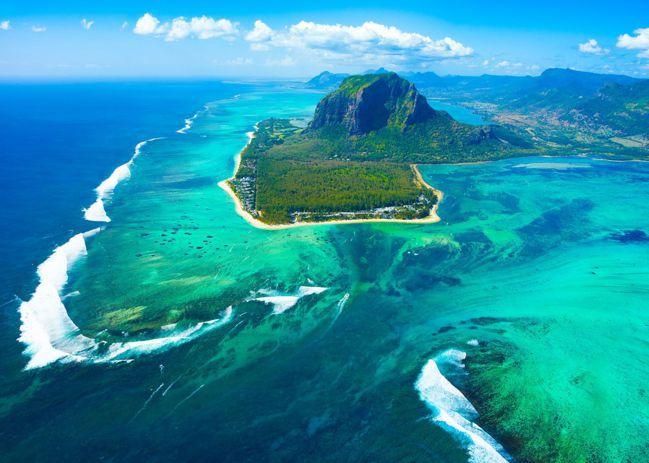 模里西斯 海底瀑布(Underwater Waterfall, Mauritiu...