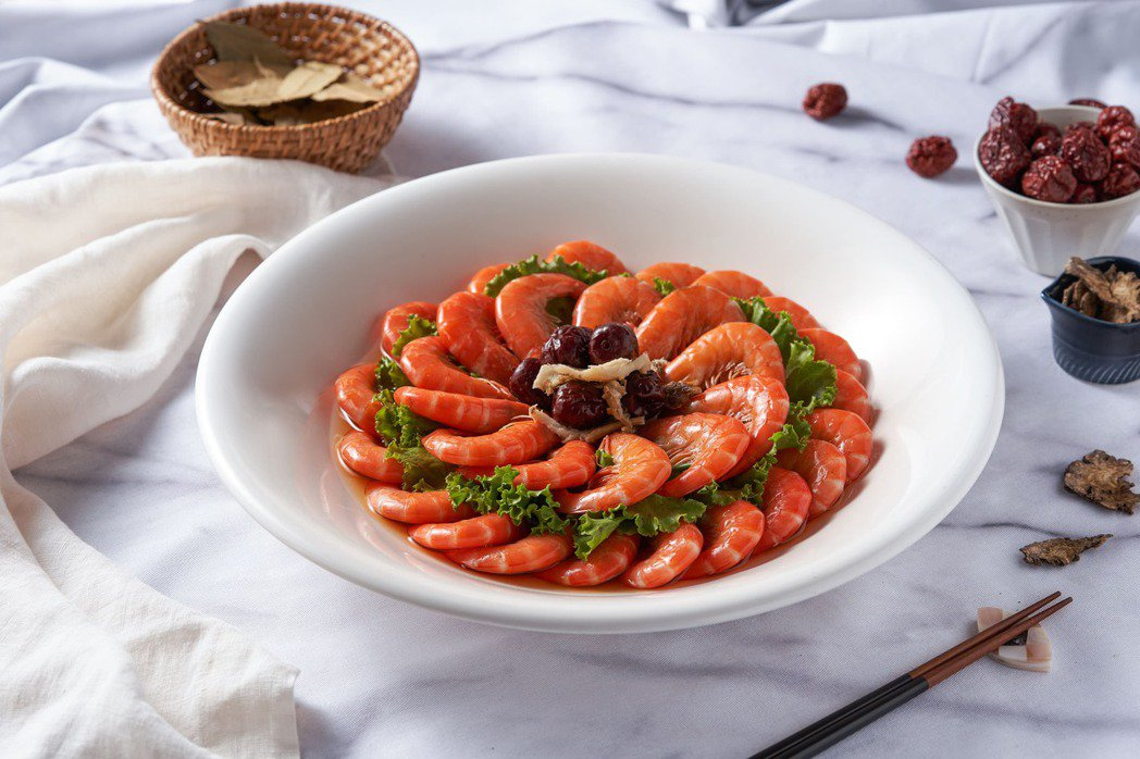 亞太年度十大名菜點-宮廷花雕蝦。晶宴會館/提供