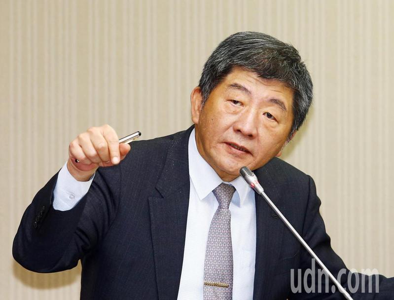 衛福部長陳時中。記者杜建重/攝影