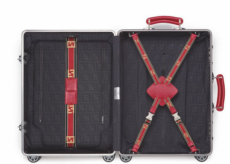 Fendi X Rimowa行李箱,起拍價6,000美元。圖/羅芙奧提供