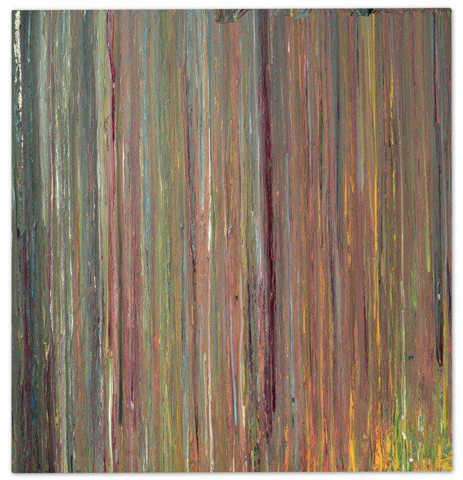 印第安那坡利斯美術館慈善拍賣品LARRY POONS作品「Untitled PI...