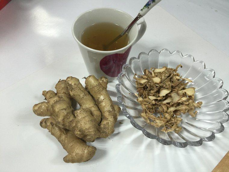 入冬天氣轉涼,薑不管是作為烹調佐料或是沖泡薑茶,都是方便又美味的保健食物。圖/南...