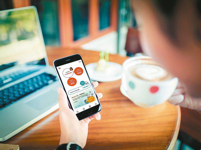多家銀行針對數位原生世代發展出多元的數位理財方法,例如訂閱式理財、智能撲滿等,獲得小資族熱烈迴響。圖/台新銀行提供