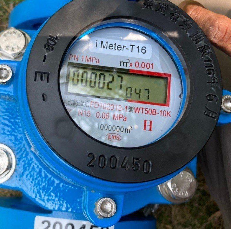 台中市政府水利局今年推動智慧水管理計畫,已有19口溫泉水井裝設智慧水表。圖/台中市政府提供