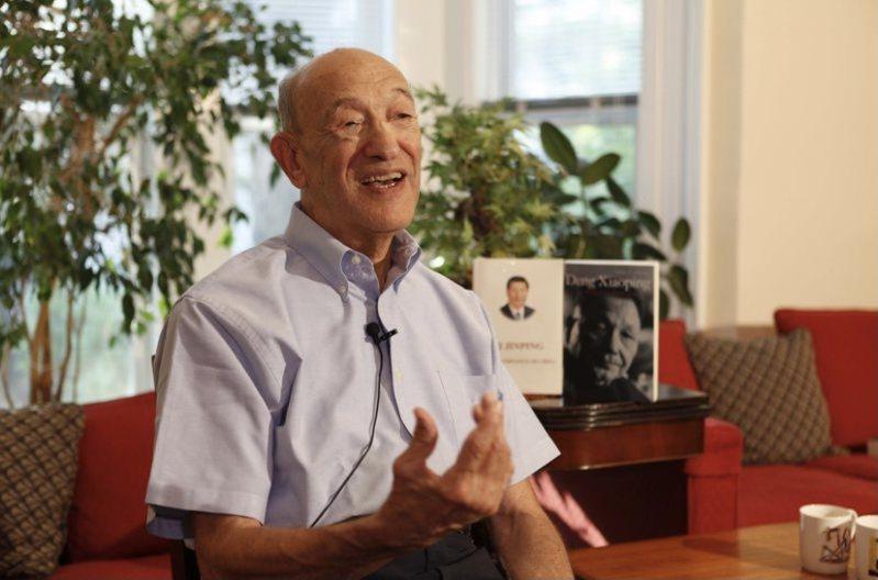 哈佛大學榮休教授、中國問題專家傅高義。(新華社)