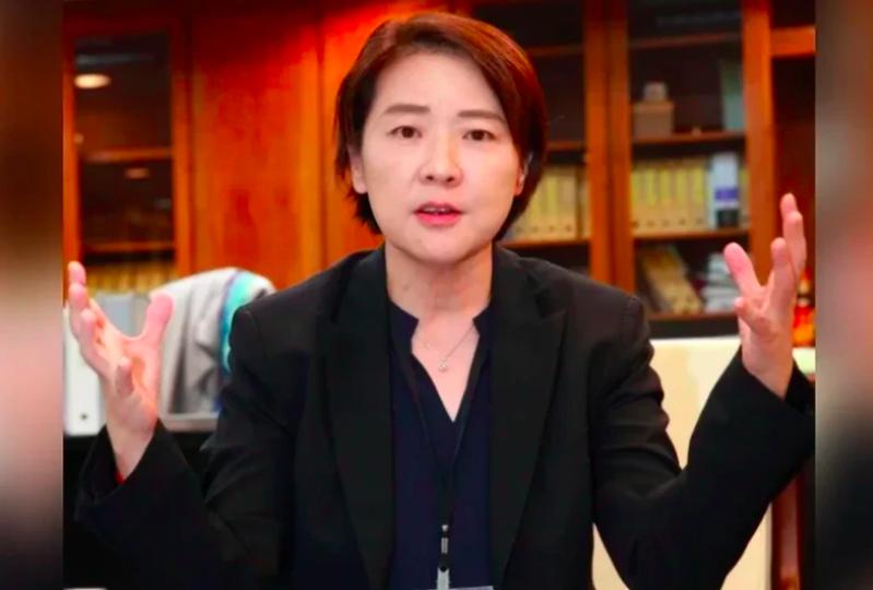 台北市副市長黃珊珊。報系資料照