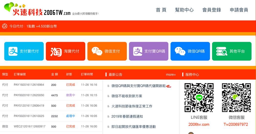 日月同輝有限公司負責人胡可兆、日月支付有限公司負責人林明宏,被控設立「火速科技」...