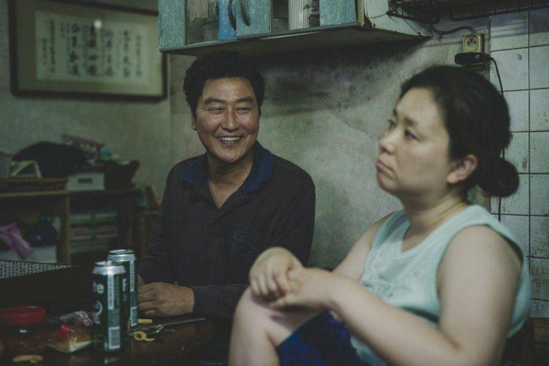 宋康昊去年演出熱門賣座片「寄生上流」,該片並拿下奧斯卡最佳影片、最佳導演獎。圖/...