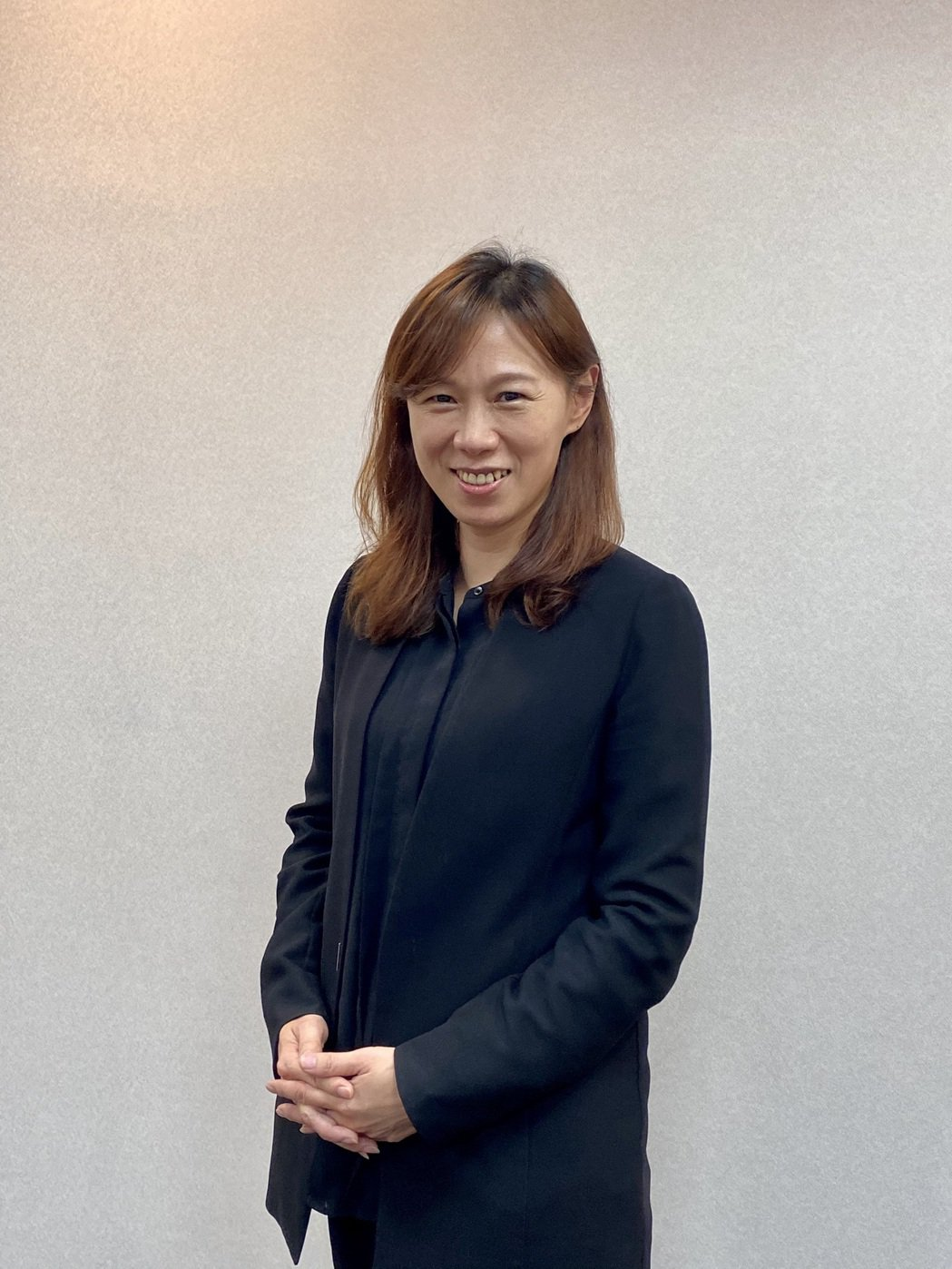 綠界科技今日舉行法說會,圖為綠界科技董事長林雪慧。  記者康陳剛/攝影