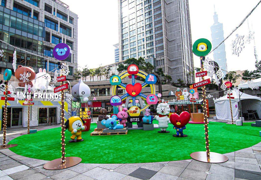 統一集團「愛sharing」點燈活動今年首度停辦,台北統一時代百貨二樓夢廣場活動...