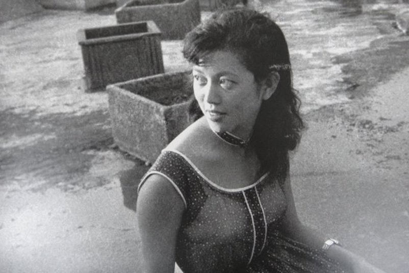 早年素有「金魚美人」封號的台語片影星陳淑芳,乃是國立藝專第一期的學生。 圖/作者提供,翻拍自《悲情台語片》。