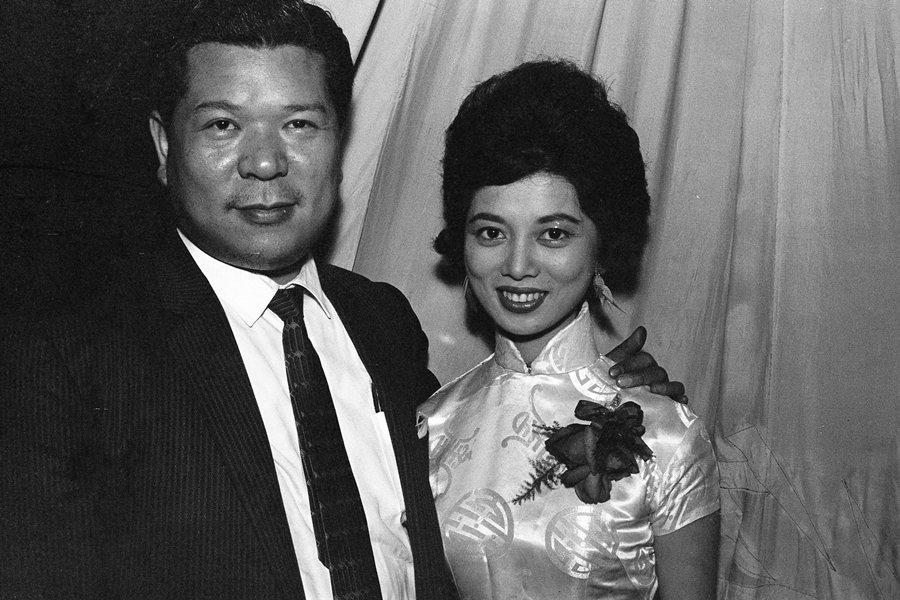 陳淑芳走過上世紀50、60年代台語電影最風光的鼎盛時期,攝於1961年。 圖/聯合報系資料照