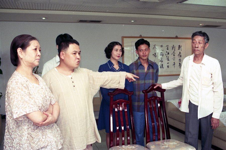 林正盛執導《春花夢露》,攝於1995年。 圖/聯合報系資料照