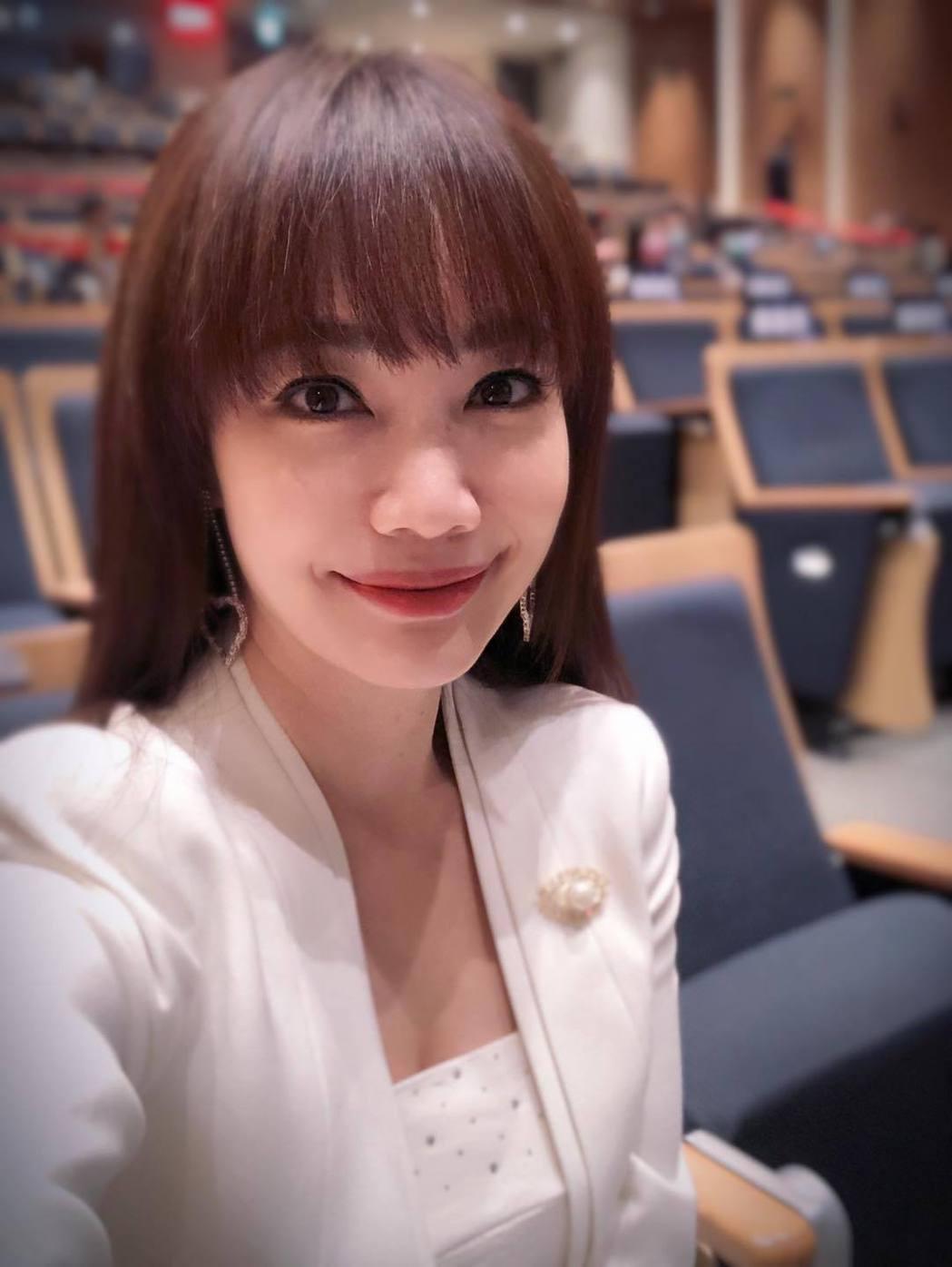 主播蕭彤雯。圖/擷自臉書