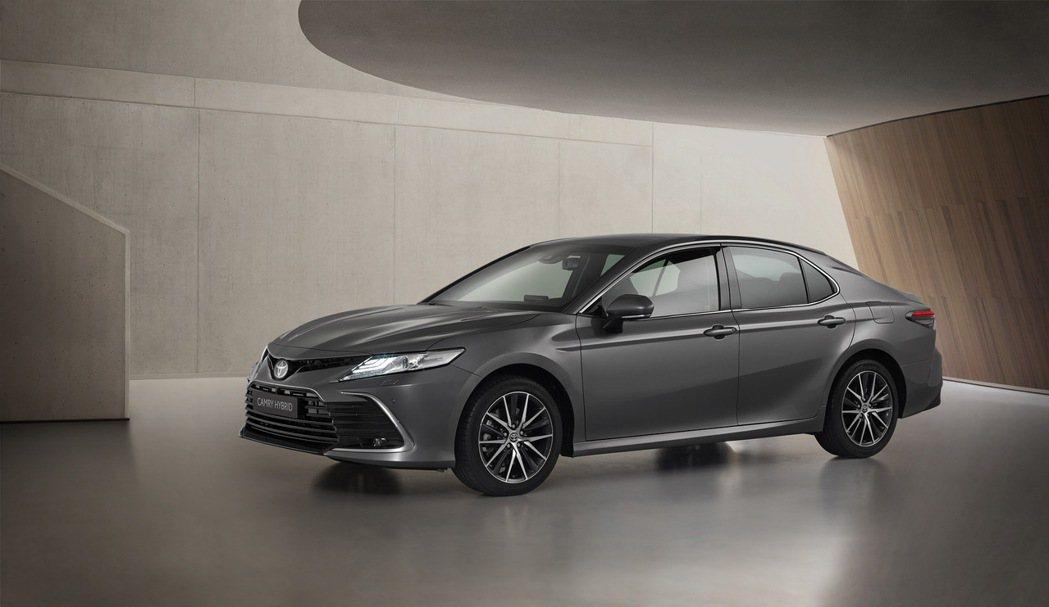 小改款歐規Toyota Camry。 摘自Toyota