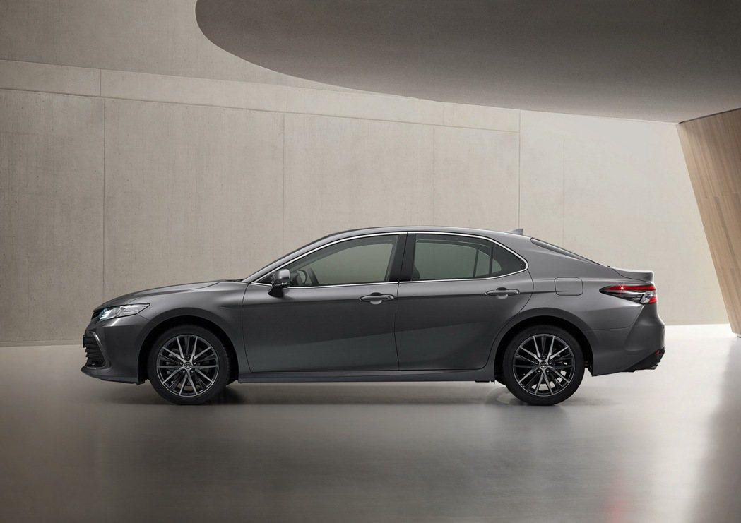 小改款歐規Toyota Camry導入最新的TSS+ 2.5。 摘自Toyota