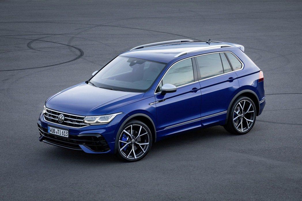 Volkswagen Tiguan R。 摘自Volkswagen