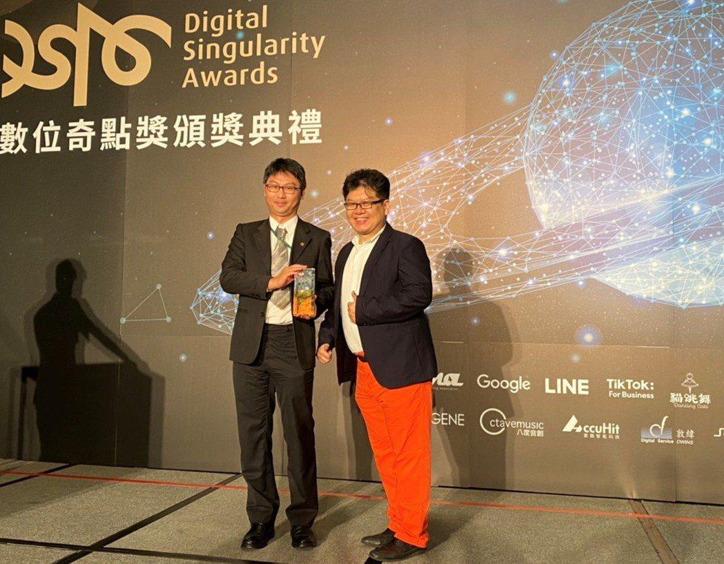 信義房屋AI技術領先業界,獲2020數位奇點獎。 信義房屋/提供