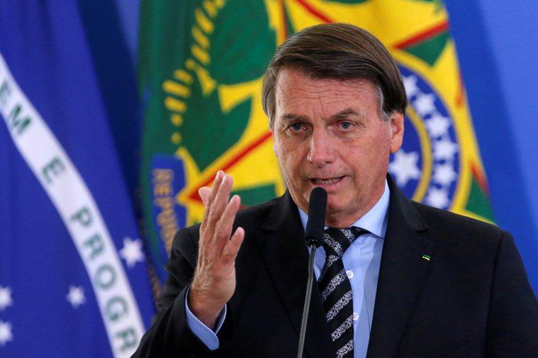 巴西總統波索納洛(Jair Bolsonaro)今天傍晚宣稱,他不會接種2019...