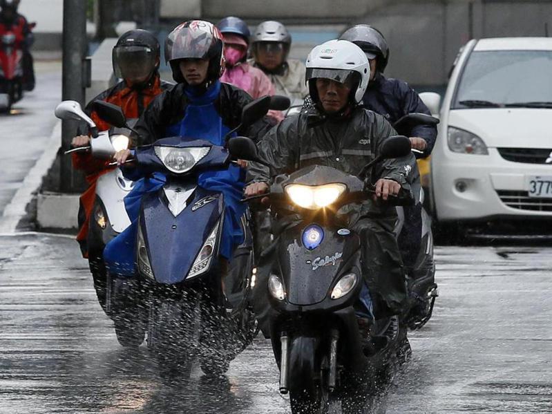 北部、東部已經轉陰雨。本報資料照片