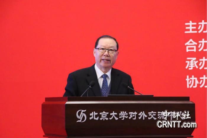 大陸國台辦前副主任,現任全國台灣研究會副會長王在希。(中評社)
