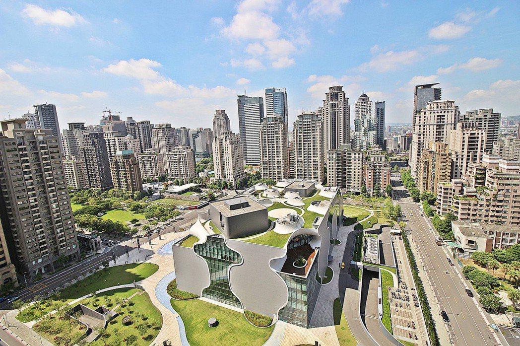 台中七期今年的土地交易量,創下實價登錄以來的史上新高。圖/台灣房屋提供