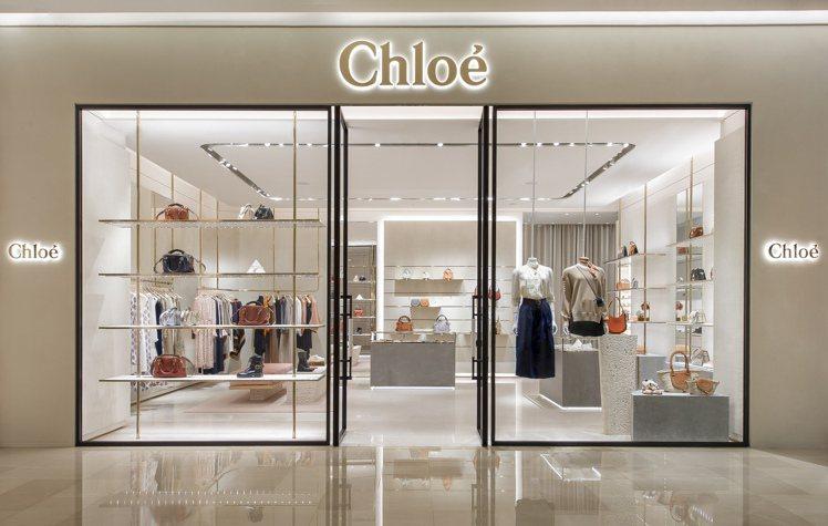 Chloé台中大遠百專門店於1樓原址重新開幕。圖/Chloé提供
