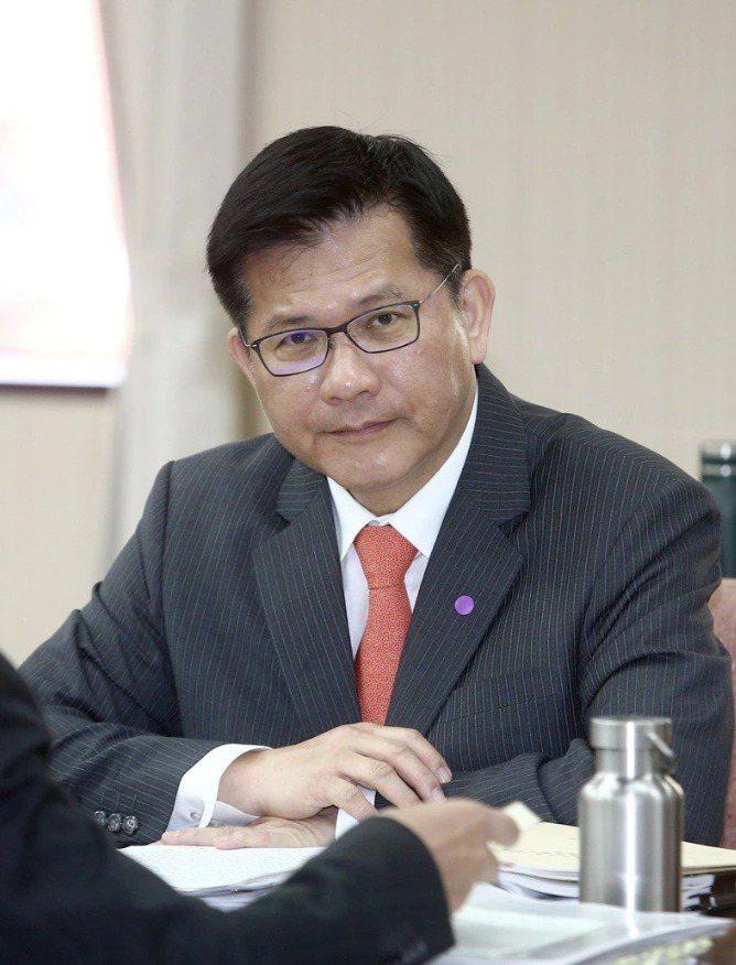 交通部長林佳龍。本報資料照片