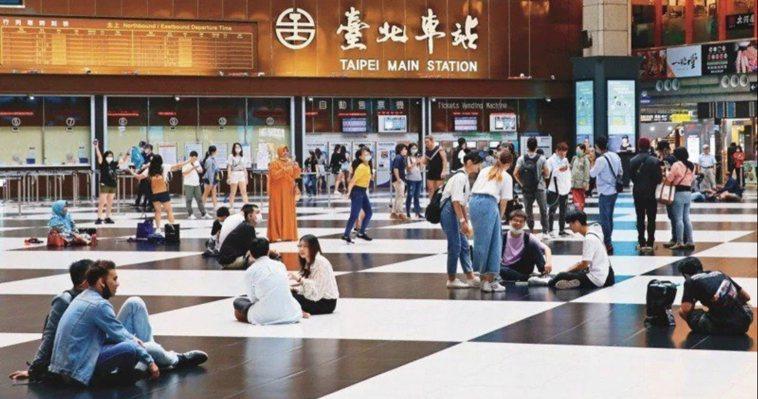 台北車站大廳。本報資料照片