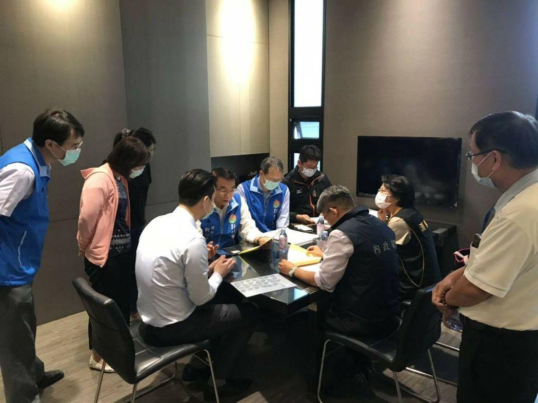中央跨部會於11月26日發動第二波預售屋聯合稽查行動。圖/內政部提供