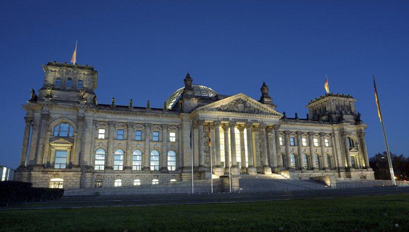 德國聯邦議會。美聯社