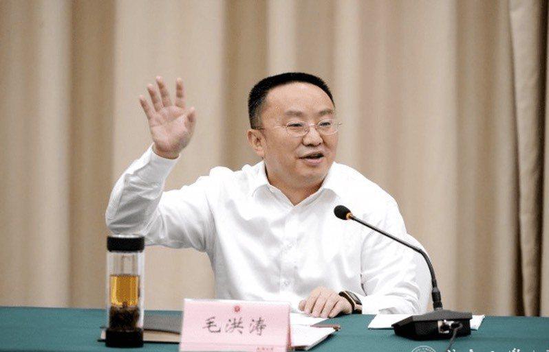 成都大學黨委書記毛洪濤。圖/取自成都大學官網