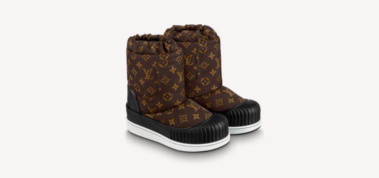 路易威登Polar平底半筒靴,43,200元。圖/取自LV官網
