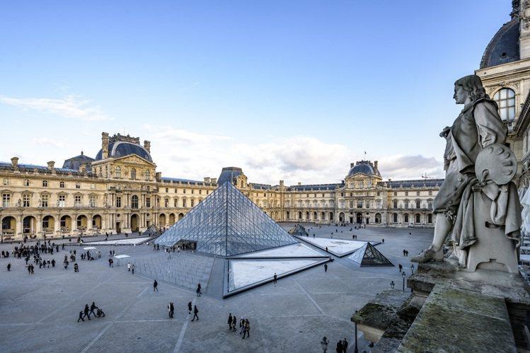 擁有無數館藏的羅浮宮,被譽為世界三大美術館之一。圖 / 江詩丹頓提供。