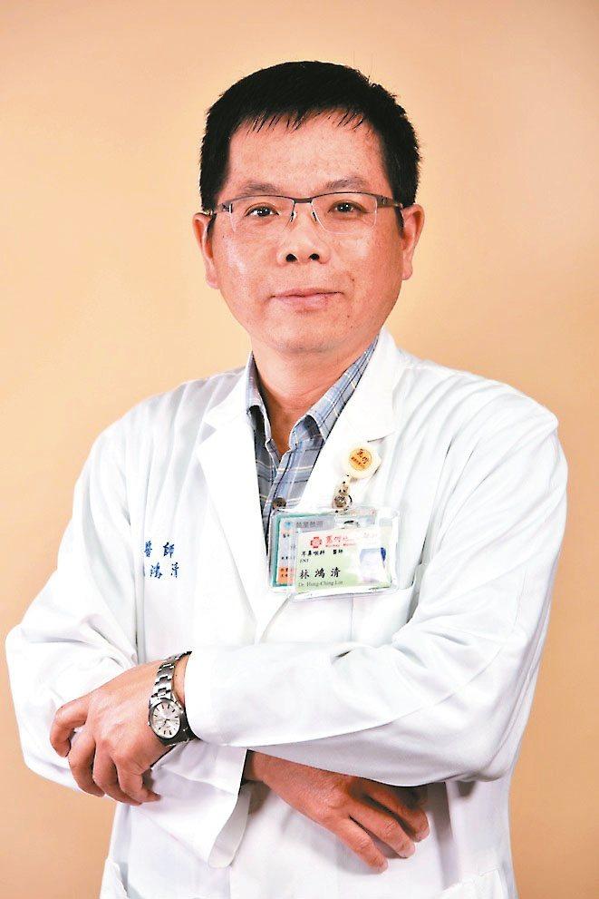 台北馬偕醫院耳鼻喉科資深主治醫師林鴻清 圖╱林鴻清提供