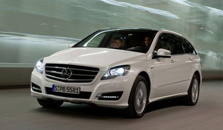 Mercedes-Benz R-Class要強力回歸了嗎? 而且還是純電超大馬力!
