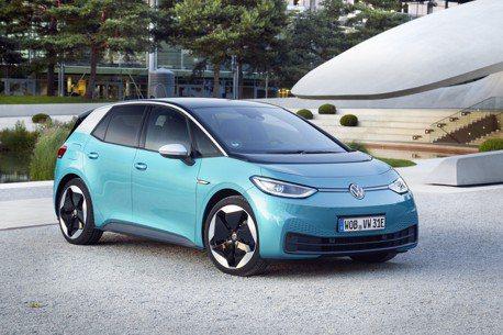 超越Renault Zoe Volkswagen ID.3 一舉成為十月歐陸地區電動車銷售王!