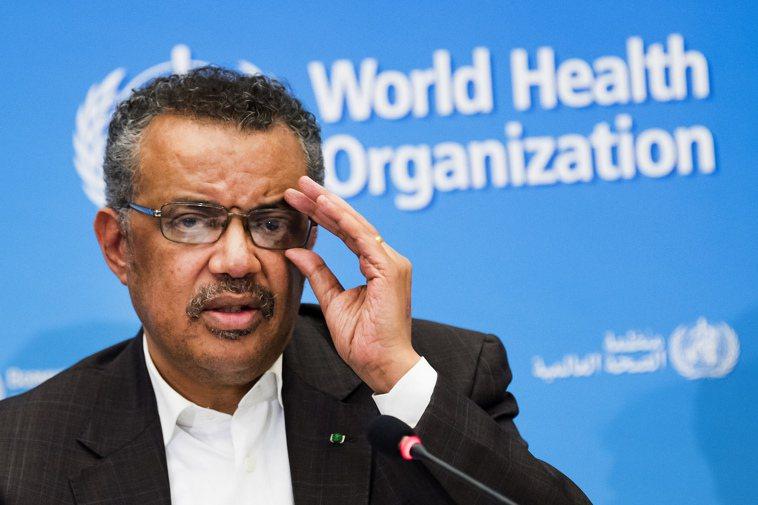 圖為世界衛生組織秘書長譚德塞。美聯社