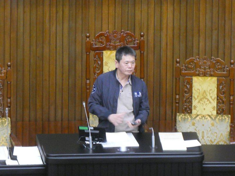 國民黨立院黨團總召林為洲。記者周志豪/攝影