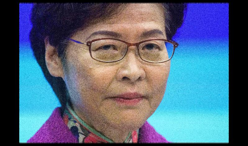 受美國制裁影響,香港特區行政長官林鄭月娥現在每個月逾新台幣158萬元薪水只能領現金,而且也只能以現金購物。法新社