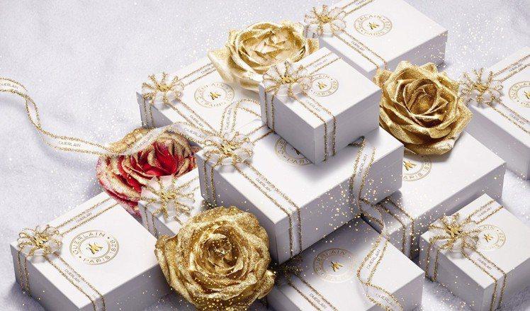 嬌蘭推出耶誕包裝。圖/嬌蘭提供