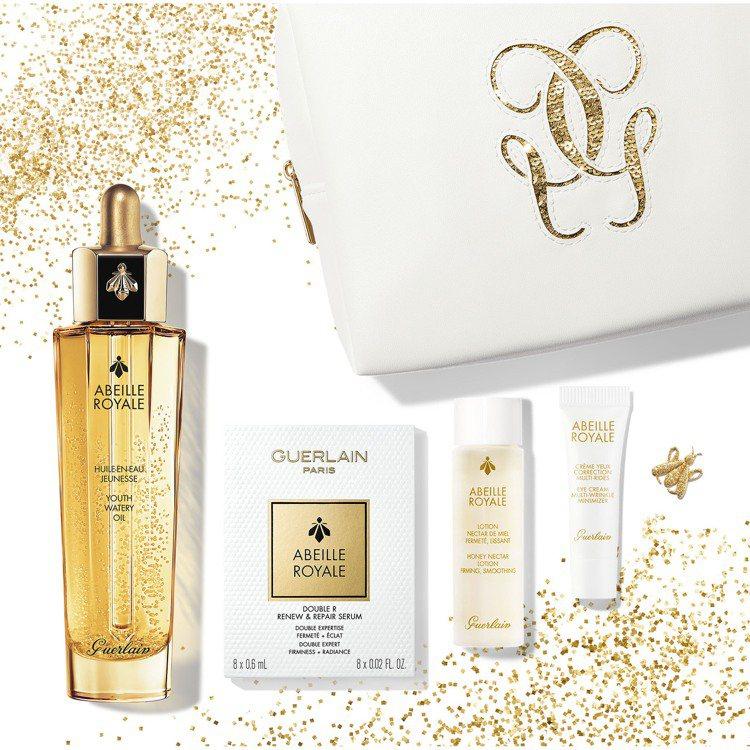 嬌蘭皇家蜂王乳平衡油聖誕限定禮盒組/5,300元。圖/嬌蘭提供