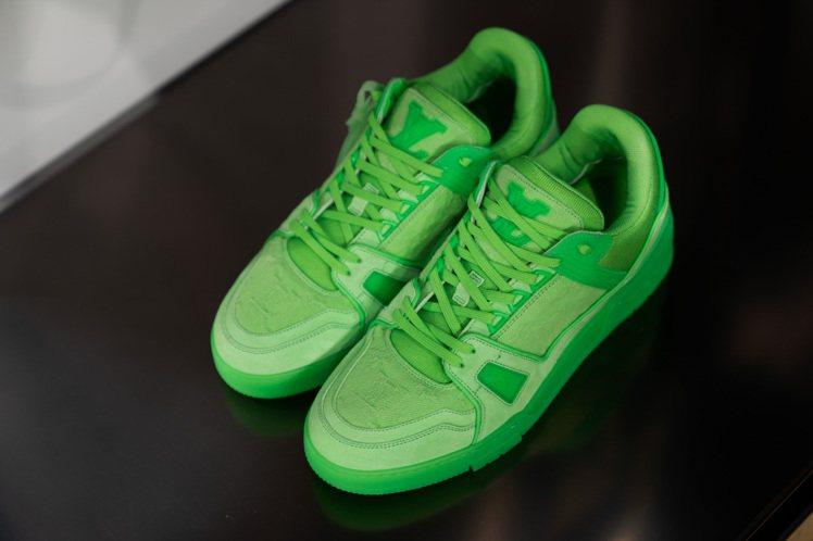 早春新款LV Trainer運動鞋,價格店洽。圖/LV提供