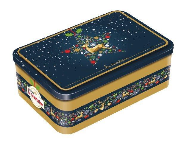 La trinitaine 法國布列塔尼餅乾不僅有傳統的紅綠設計聖誕禮盒,獨特的...